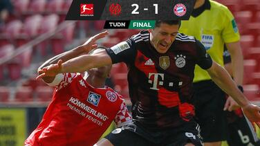 ¡El festejo debe esperar! Bayern es sorprendido por el Mainz