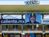 Los Dorados de Sinaloa inmortalizan a Diego Armando Maradona