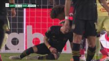 La expulsión sobre Atuesta calienta los ánimos entre LAFC y América
