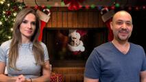 'El Niño Dios' y 'Los Reyes Magos' llenaban de regalos a La Chula y La Bestia