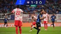¡Sorpresa! El Brujas 'asusta' a un desconocido RB Leipzig