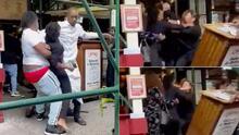 Tres turistas de Texas cachetean a 'hostess' de restaurante en Nueva York que les pidió certificado de vacunación