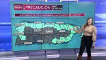 Miércoles con alto riesgo de corrientes marinas en Puerto Rico