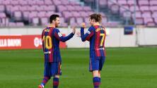 Messi y Griezmann, titulares ante CR7 y la Juventus