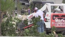 Fuerte tormenta deja destrozos en Austin