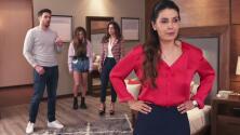 Si Nos Dejan - Pese a las súplicas de Sergio, Alicia está por confesarles a sus hijos su infidelidad - Escena del día