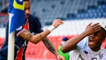 ¿Habrá consecuencias? Neymar se pelea en el túnel de vestuarios