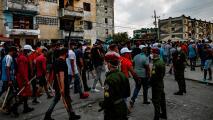 """Régimen de Cuba: la marcha de noviembre propiciará la """"anhelada intervención militar"""""""