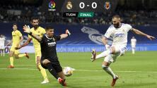 Real Madrid se complica el liderato; Villarreal le sacó el empate