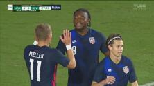¡'Manita' del Team USA! Akinola aprovecha el error defensivo para el 5-0