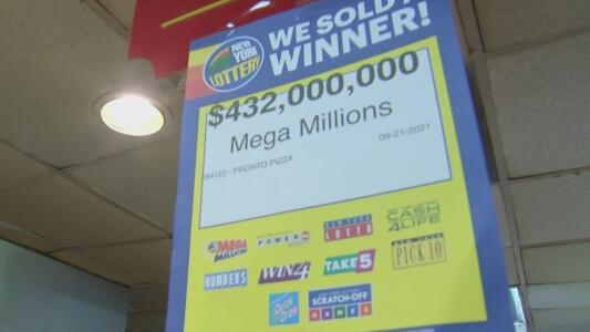 Esta pizzería vendió el boleto ganador de 432 millones de dólares del Mega Millions en Nueva York