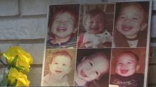 """""""Esta no es la manera en la que quería ver a mi niño"""": tía del bebé James Chairez recibe las cenizas del menor"""