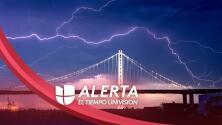 Alerta por tormentas eléctricas secas y riesgo de incendios este jueves en el Área de la Bahía