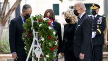 Biden culmina un día de homenajes acompañando a las familias de las víctimas del 9/11 en el Pentágono