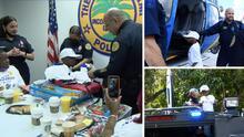 Policía de Miami invita a niño de 5 años a ser el nuevo jefe del Departamento tras perder a su mamá en incendio