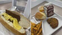 Esta es la foto de los almuerzos en una escuela en Nueva Jersey que se volvió viral y está indignando a muchos