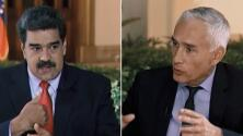 """""""17 Minutos: Entrevista con el dictador"""": Jorge Ramos narra su encuentro con Nicolás Maduro"""