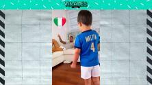 Spinazzola apoya a Italia desde casa y canta el himno