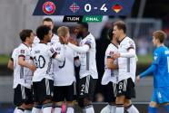Alemania mira al Mundial: Sin despeinarse goleó a una endeble Islandia