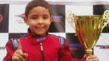 ¡En sus marcas...! Conoce a este campeón de velocidad que sólo tiene 8 años