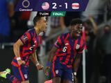 Estados Unidos vence a Costa Rica en Columbus en el Octagonal Final