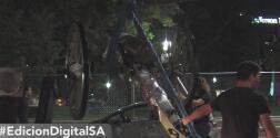 Remueven estatua confederada de un parque en San Antonio