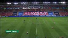 Resumen del partido Necaxa vs Monterrey