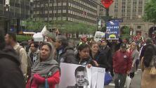 Protestas en contra de las políticas migratorias de Donald Trump dejaron un saldo de 30 personas capturadas