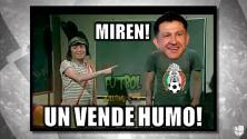 Osorio fue la víctima de los memes de la semana