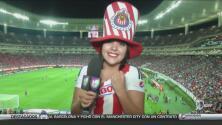 Fanático más cool: Conoce a una gran fanática de las Chivas de Guadalajara