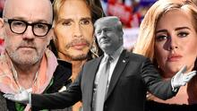 Adele, Rihanna, Jagger y otra veintena de  artistas que reclama a Trump usar sin permiso su música en la campaña (fotos)