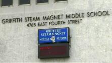 Preocupación por posibilidad de que escuela chárter se instale en Griffith STEAM Magnet Middle School