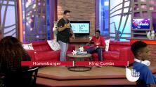 Hammburger talks with King Combs