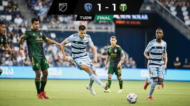 ¡Agónico empate! Sporting KC rescata un punto ante Portland Timbers