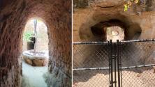 Construyó su casa bajo tierra para escapar del calor en Fresno, y hoy es una atracción turística