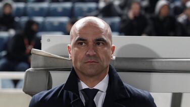Federación belga respaldó a Roberto Martínez tras perder en Nations League