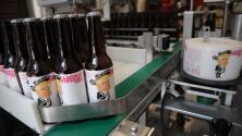 Cerveceros de México y EEUU se unen para crear la cerveza 'Amigous', con la imagen de Trump vestido de mariachi