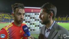 Brais Méndez ve como un estímulo que Luis Enrique convoque a jugadores jóvenes a la Selección Española