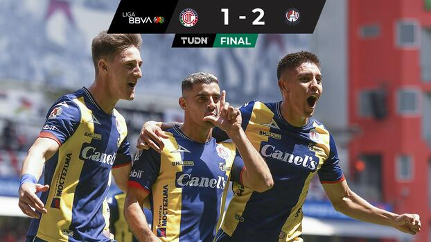 San Luis gana en el Nemesio Diez y deja al Toluca sin liderato