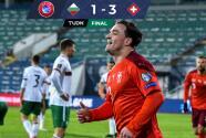 Suiza sentenció a Bulgaria a domicilio y dio primer paso a Catar 2022