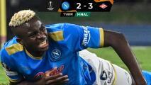 Resumen | ¡Adiós al invicto del Napoli! Cae en casa 2-3 ante el Spartak
