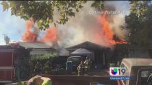Incendio consume casa en North Highlands