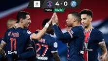 Lyon se apodera de la cima en la Ligue 1; PSG golea
