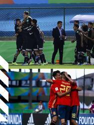 España 5-1 Tayikistán, Camerún 1-3 Argentina, Islas salomón 0-7 Paraguay, México 1-2 Italia.