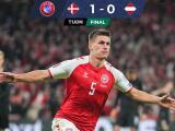 Resumen | Con gol de Maehle, Dinamarca vence a Austria y está en Qatar 2022