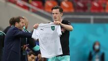¡700 goles en Euro! Gregoritsch hace historia; lo dedica a Eriksen
