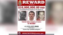 La DEA en Los Ángeles ofrece $10,000,000 por información que permita capturar a este hombre
