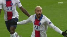¡PSG pega primero! Neymar marca el gol de la ventaja con derechazo