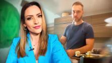 """La broma que Michelle Galván le hizo a su esposo casi hace que """"le aviente el café"""""""