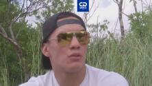 Óscar Valdez cambió el ring por los Everglades